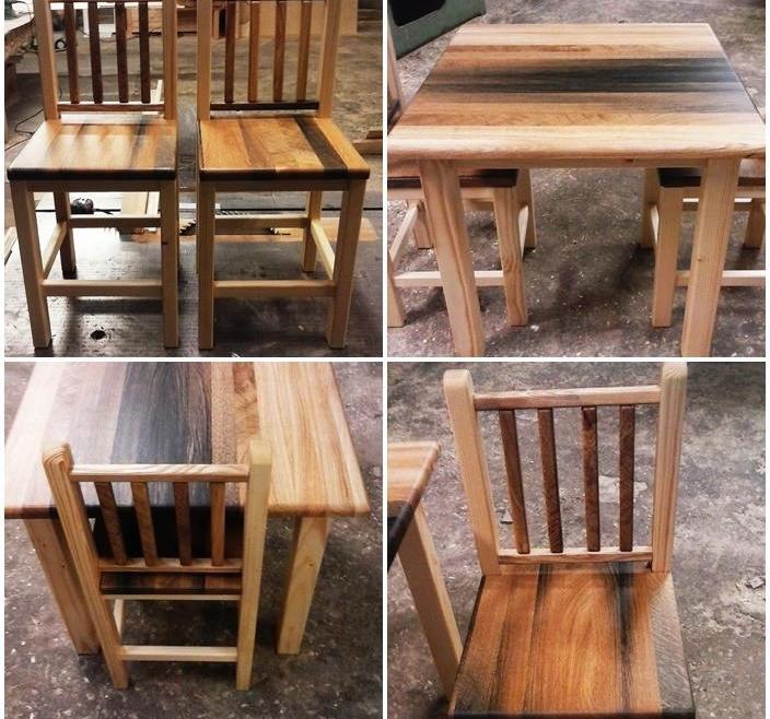 Laste kirjutuslaud + toolid