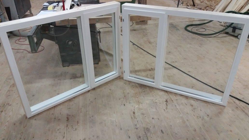 Lahtikäivad elamu aknad (2 x pakett)
