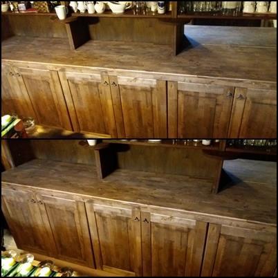 Vanale kapile uus männa töölaud ja kaseuksed